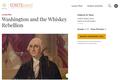 Washington and the Whiskey Rebellion