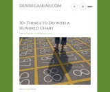 20+ Things to Do with a Hundred Chart