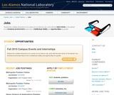 Job Listings - Los Alamos National Laboratory