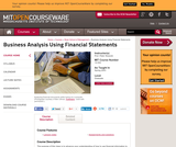 Business Analysis Using Financial Statements, Spring 2003