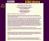 Star Library: Regression on the Rebound