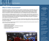 What is Online Assessment?