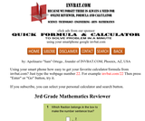 3rd Grade Math Assessment Reviewer