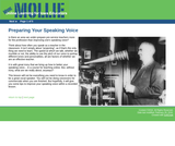 Preparing Your Speaking Voice