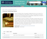 Great Writers Inspire: Victorian Publishing History