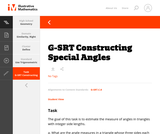 G-SRT  Constructing Special Angles