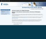 Enhancing oral skills