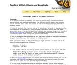 Practice With Latitude and Longitude