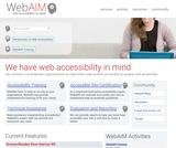 WebAIM: Web Accessibility in Mind