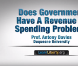 Does Government Have a Revenue or Spending Problem?