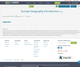 Europe Geography Introduction