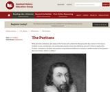 Reading Like a Historian: Puritans