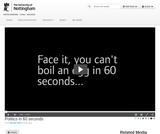 Politics in 60 seconds