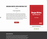 Oregon Writes Open Writing Text