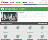 iCivics Curriculum Unit: Boys and Girls Clubs of America