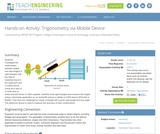 Trigonometry via Mobile Device