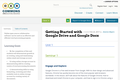 Getting Started with Google Drive and Google Docs