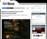 Medieval and Renaissance Art: Botanical Symbolism