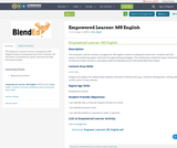 Empowered Learner: MS English
