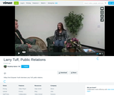 Roadtrip Nation Empower Youth Video with Larry Tuff, Public Relations
