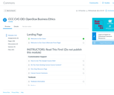 OpenStax Business Ethics
