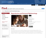 Reproductive and Perinatal Epidemiology