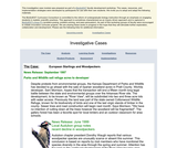 European Starlings and Woodpeckers
