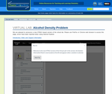 Alcohol Density Problem