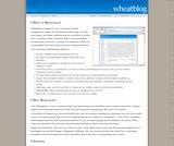 WheatBlog .05b