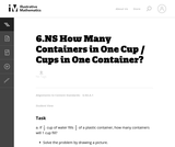 How Many Containers in One Cup / Cups in One Container?