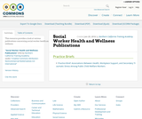 Social Worker Health and Wellness Publications