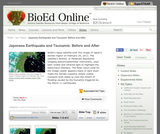 BioEd Online: Japanese Earthquake and Tsunamis, Before and After