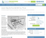 May the Force Be With You: Thrust