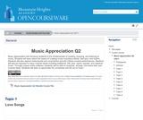 Music Appreciation Q2