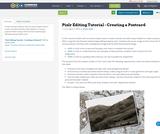 Pixlr Editing Tutorial - Creating a Postcard