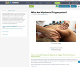 What Are Myofascial Triggerpoints?