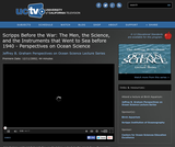 Perspectives on Ocean Science: Scripps Before the War: The Men, the Science, and the Instruments that Went to Sea before 1940