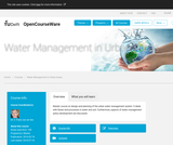 Water Management in Urban Areas