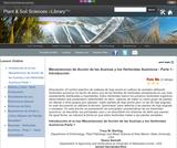 Mecanismo(s) de Acción de las Auxinas y los Herbicidas Auxínicos - Parte 1- Introducción