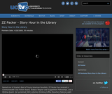 Story Hour in the Library: ZZ Packer