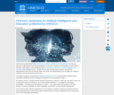 First ever consensus on Artificial Intelligence and Education published by UNESCO