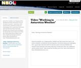 """Video: """"Working in Antarctica Weather"""""""