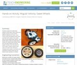 Angular Velocity: Sweet Wheels