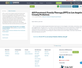 A13 Functional Family Therapy (FFT) in Los Angeles County Probation