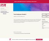Text Analyses: Grade K