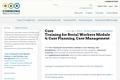 Core 2.5: Case Planning, Case Management