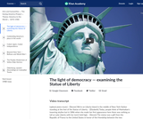 The light of democracy — examining the Statue of Liberty