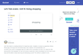 Quizlet Flashcards: Shopping, Clothes, and Transactions