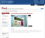 Case Studies in Terrorism Response