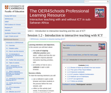 Introduction to Interactive Teaching with ICT